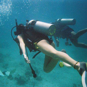 Scuba Diving & the Dark