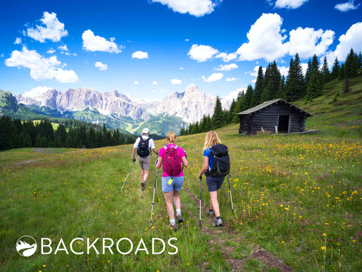 Family Hike in the Dolomites