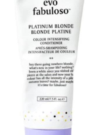 evo Fabuloso Platinum Blonde Colour Boosting Treatment