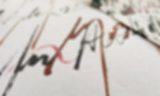 Calligraphy, Gabriele Gutwirth