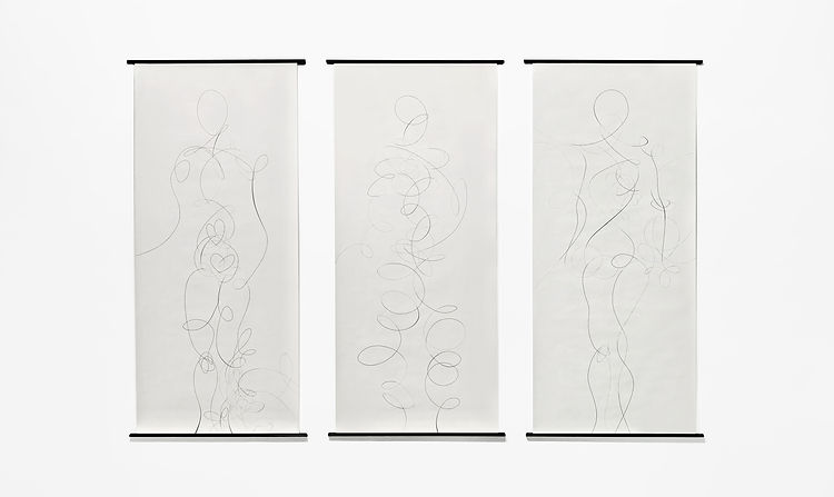 'In Person I, II, III', Gabriele Gutwirth