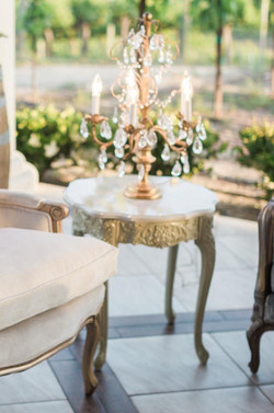 Tuscan Marble Side Table