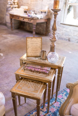 Florence Italian Nesting Side Tables