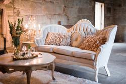 Chloe Cream Tufted Sofa