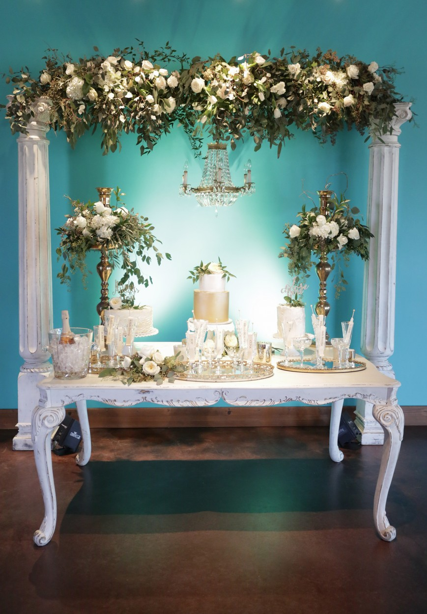 Empire Large White Table