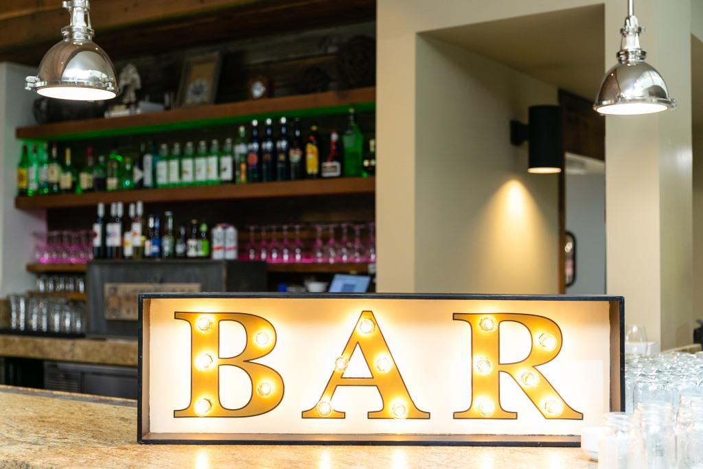 BAR Marquee Light Sign