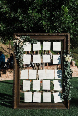 Life Size Picture Frame w/Wire Grid
