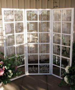12 Pane Window Seating Chart