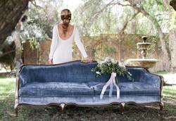 Serenity Blue Sofa