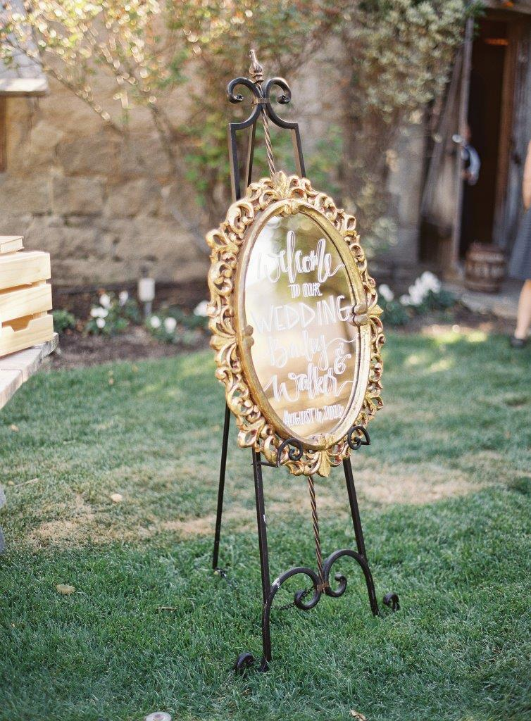 Cynthia Gold Mirror