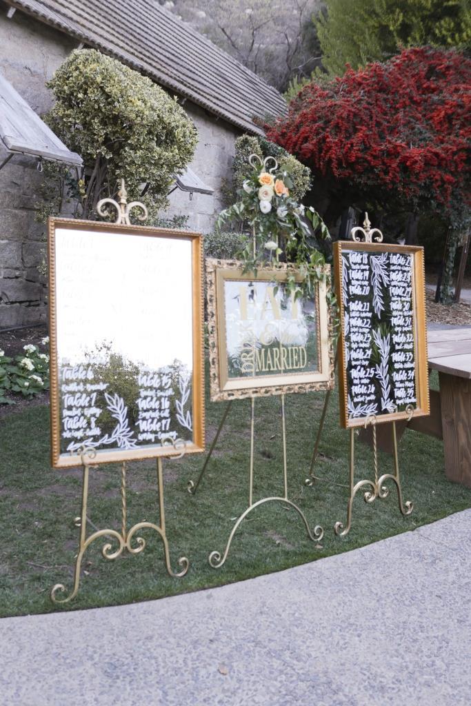 Rockefeller Gold Mirror