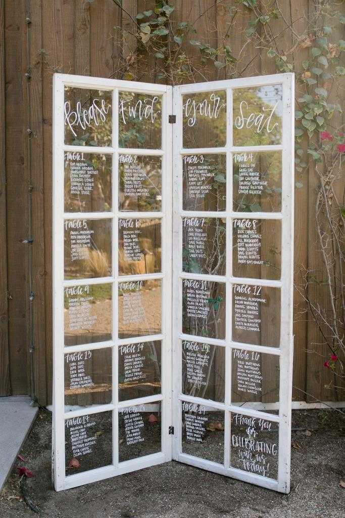 12 Pane Window Seating Chart