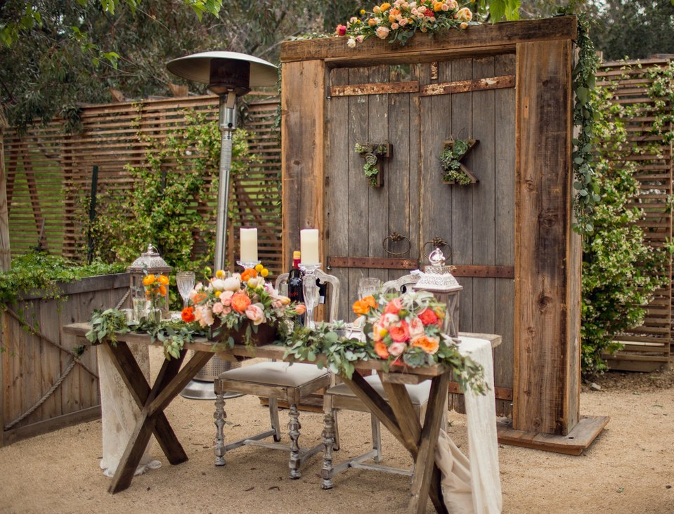 Sonoma Rustic Farm Table