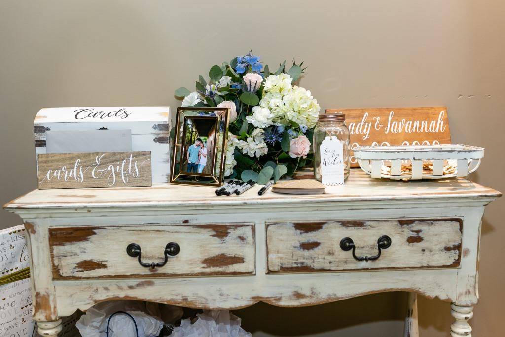 Hampton White Console Table