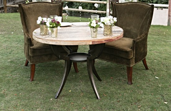 Indy Wood Table