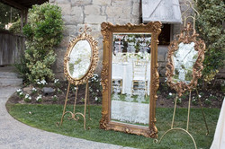 Candace Gold Mirror