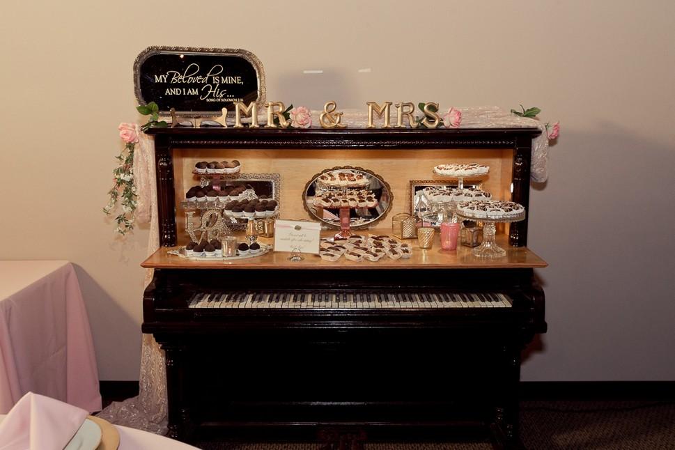 Dark Wood Piano Bar
