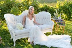 Lilly Cream Tufted Sofa