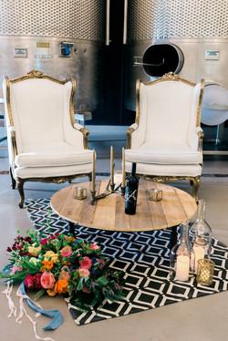Regency Wing Back Chairs