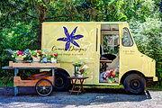 Camas Designs flower truck