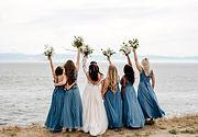 Camas Designs Bridal beauties in blue Ke