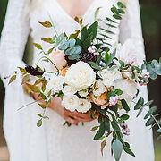 Camas Designs bridal bouquet - Karissa R