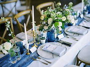 Camas Designs A Touch of Blue reception-