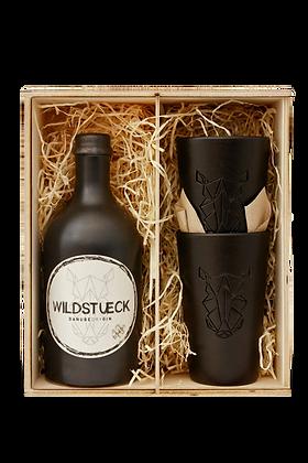 Wildstueck Gin Holz-Geschenkbox