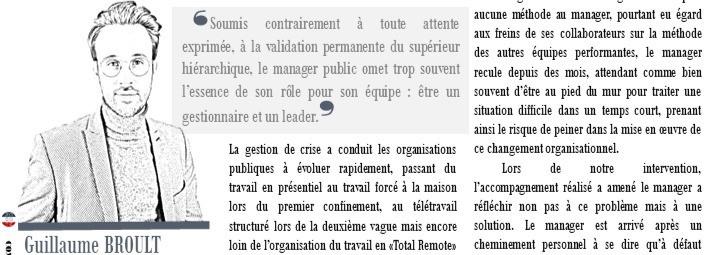 """Managers publics : la solution ! Mon article dans la rubrique """"champs libres"""" de Complexe"""