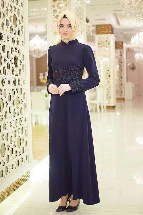 שמלה מיוחדת ליום יום בצבע כחול