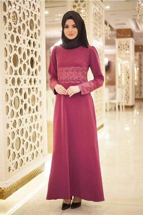 שמלה מיוחדת ליום יום בצבע ורוד