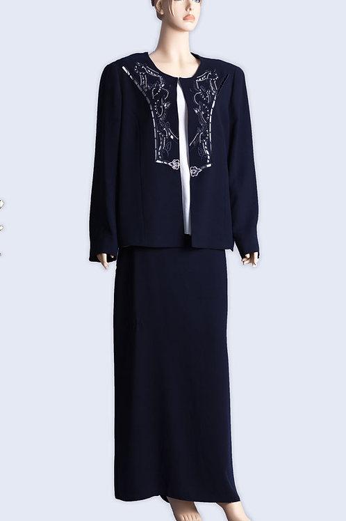 חליפת נשים 3 חלקים אליגאנט עם חצאית