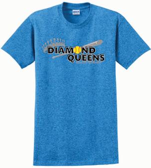 DQ Heather Sapphire Tournament Shirt
