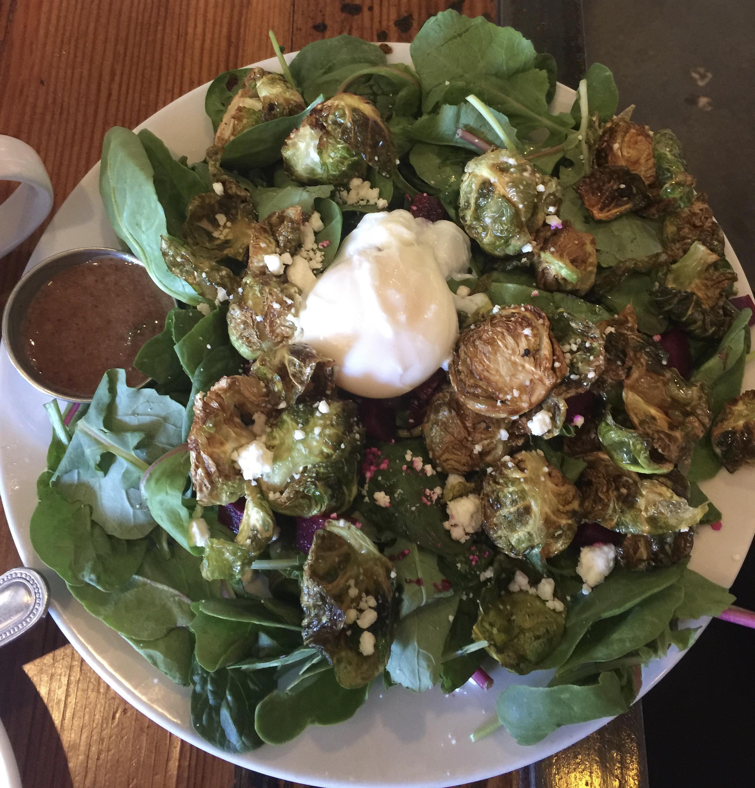Blooming Beets - warm salad