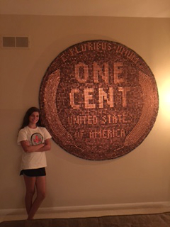 Giant Wheat Back Penny #giantpenny