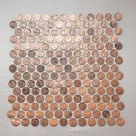 standard real penny tile