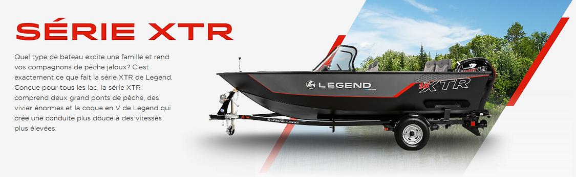 bateau Série XTR