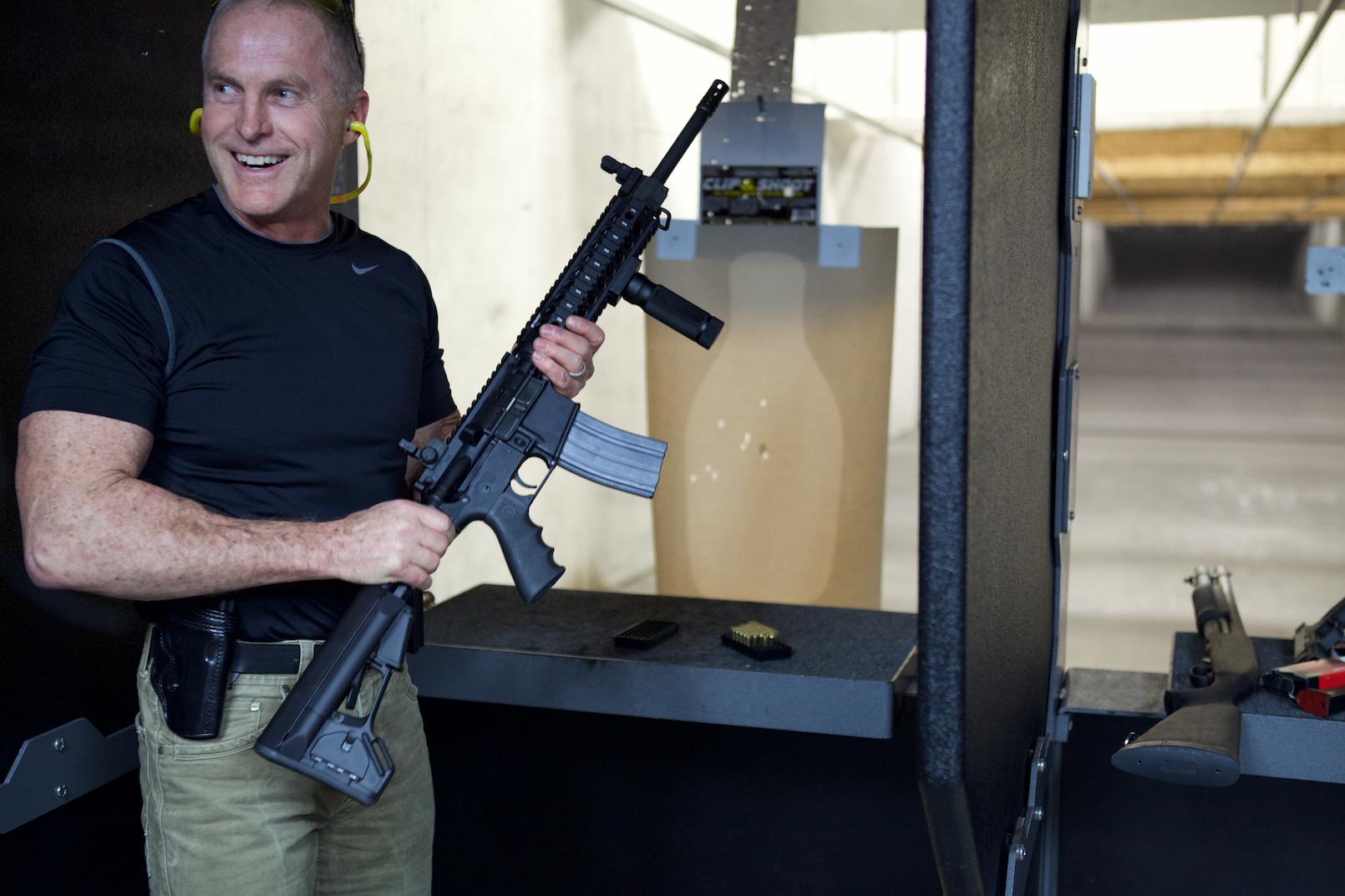 Patrol Rifle Standing