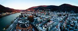 Heidelberg Altstadt Winter