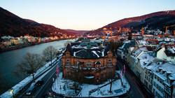 Heidelberg Stadthalle Winter
