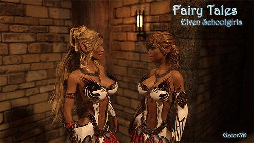 Fairy Tales - Elven Schoolgirls