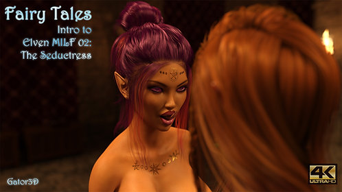 Intro to Fairy Tales Elven MILF 2: The Sorceress