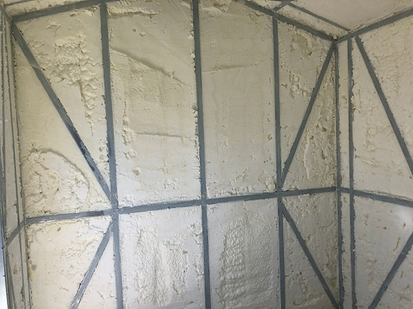 Metal building insulation closed cell foam