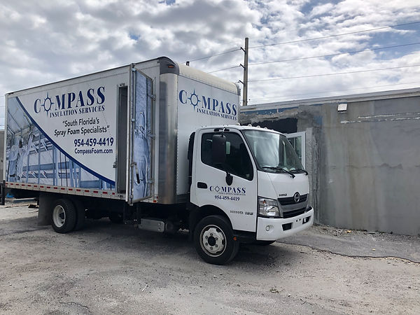 best insulation company in South Florida Compass Foam commercial building