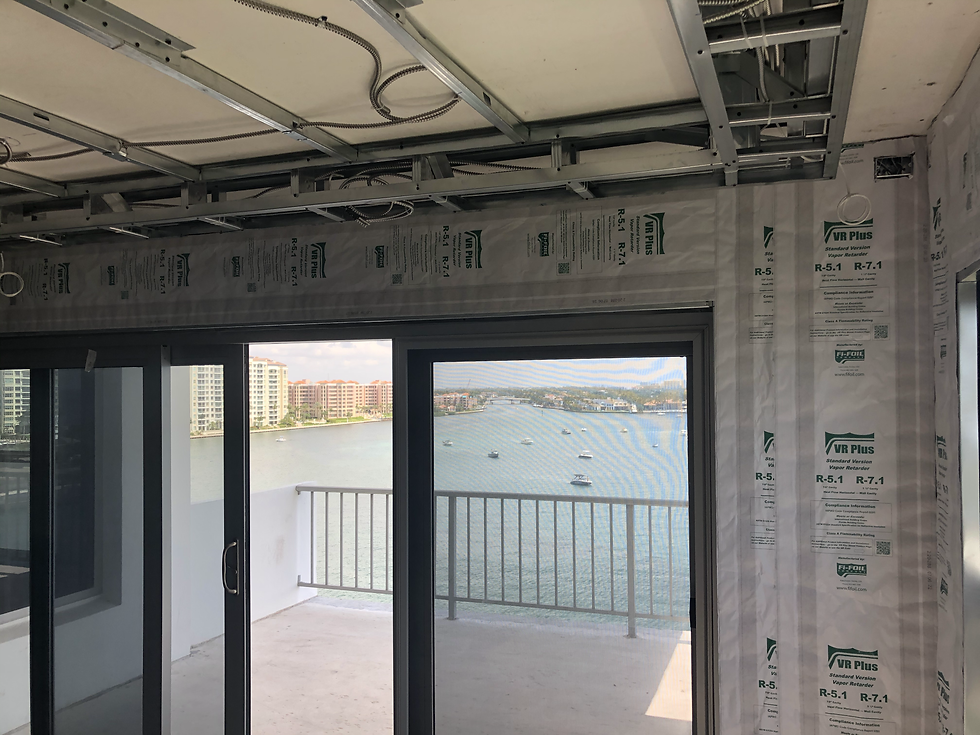 875 E. Camino real Boca Raton waterfront insulation