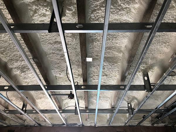 Spray foam insulation commercial building Florida