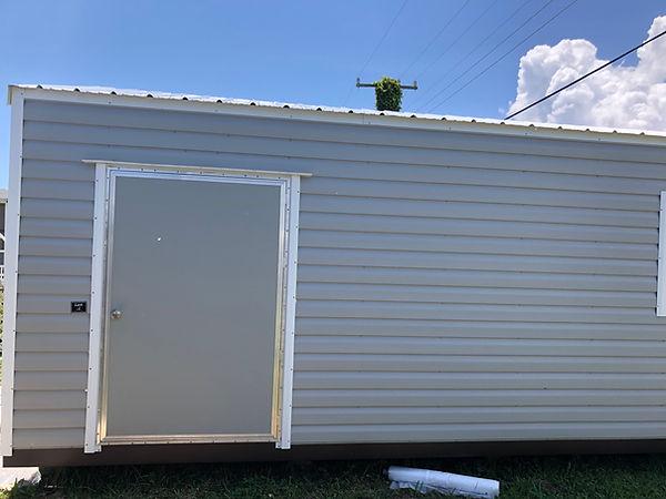 Metal storage building insulation