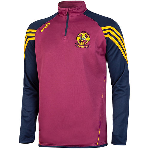 Darwin Club half zip sweatshirt