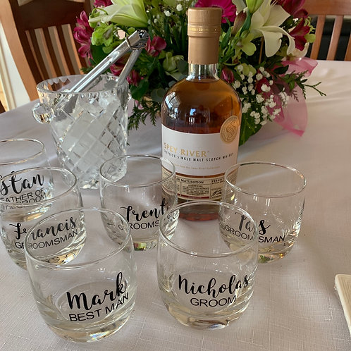Personalised Scotch Glasses