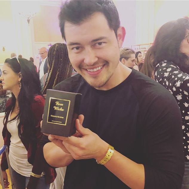 Was so lovely to meet _mrchristophersean today at the Daytime Emmys Gifting Suite! Congratulations on your newest cast in the Star Wars seri
